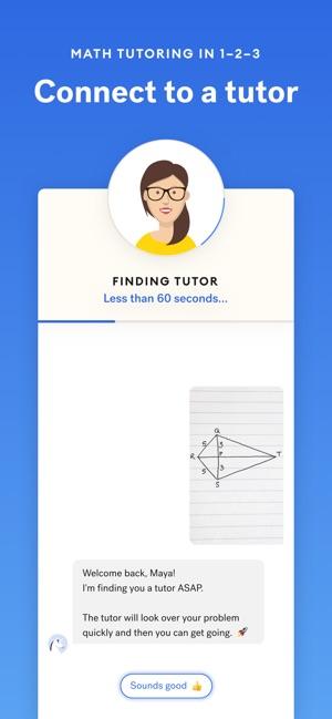 Yup — Math Tutoring App on the App Store