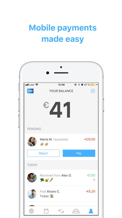 Verse - Send and request money screenshot-0