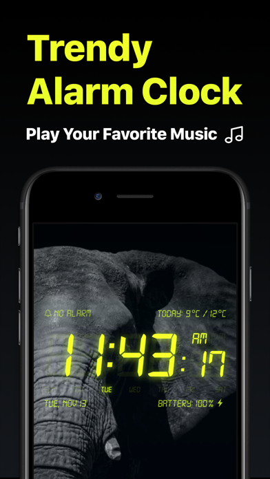 Alarm Clock - My Music Alarms Screenshot