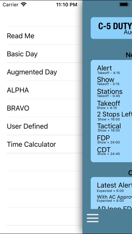 C-5 Duty Day Calc screenshot-2