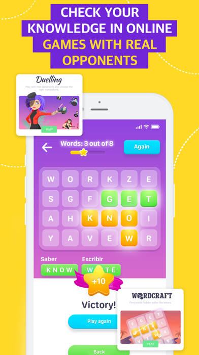 EWA: Learn English & Spanish Screenshot