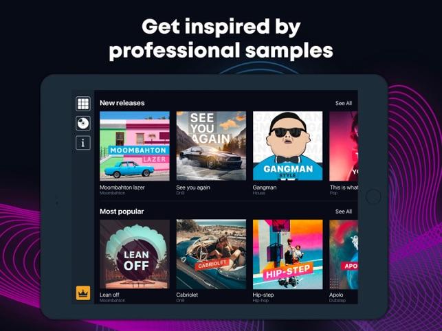 U Beats: Beat Maker & Drum Pad on the App Store