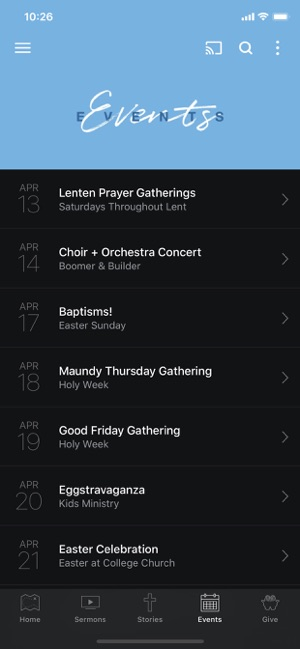 College Church of the Nazarene on the App Store