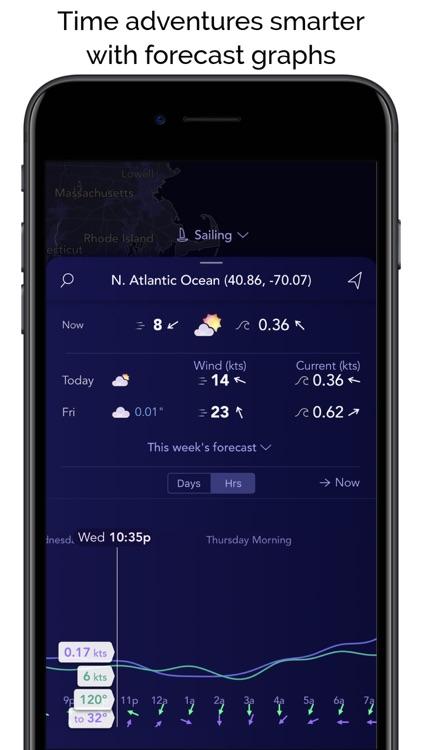 Saildrone Forecast - Weather screenshot-7