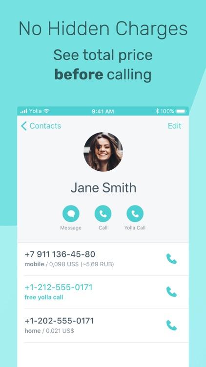 International calling - Yolla screenshot-3