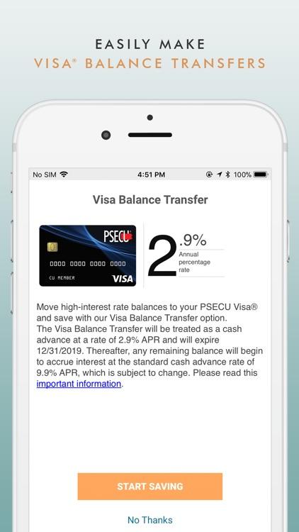 PSECU Mobile screenshot-4