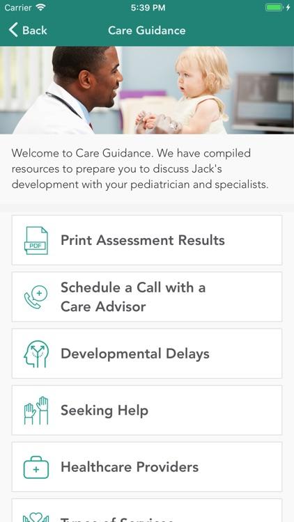 Cognoa for Child Development
