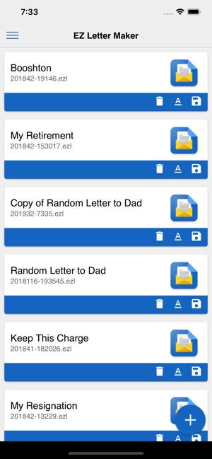 EZ Letter Maker on the App Store