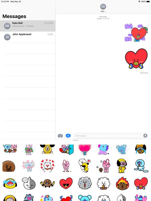 BT21 Stickers screenshot 10