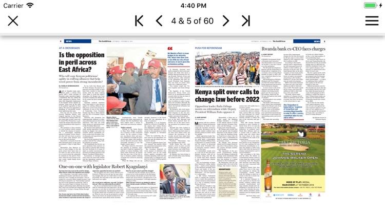 The East African Epaper App screenshot-3