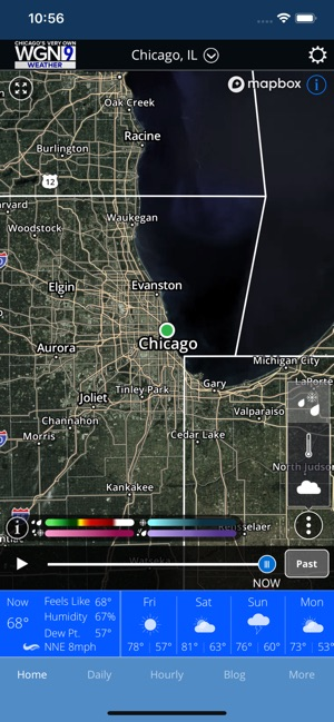 WGN-TV Chicago Weather on the App Store