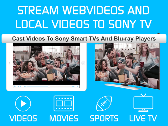Video & TV Cast for Sony TV screenshot 6