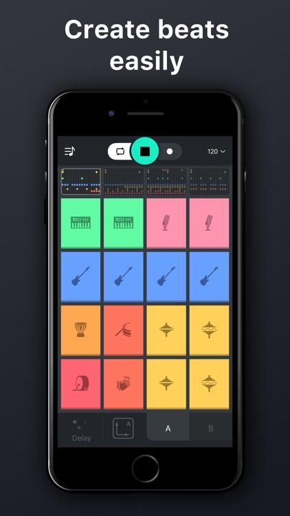 Beat snap 2 -music maker remix screenshot-3