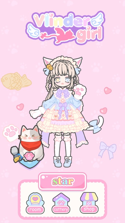 Vlinder Girl - Dress Up Games