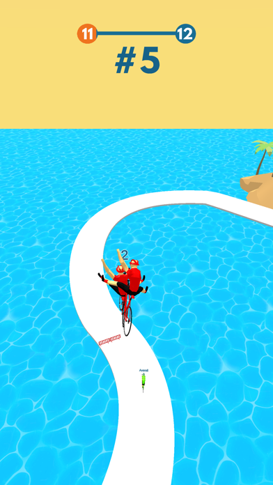 Cycling Stack Race screenshot 4