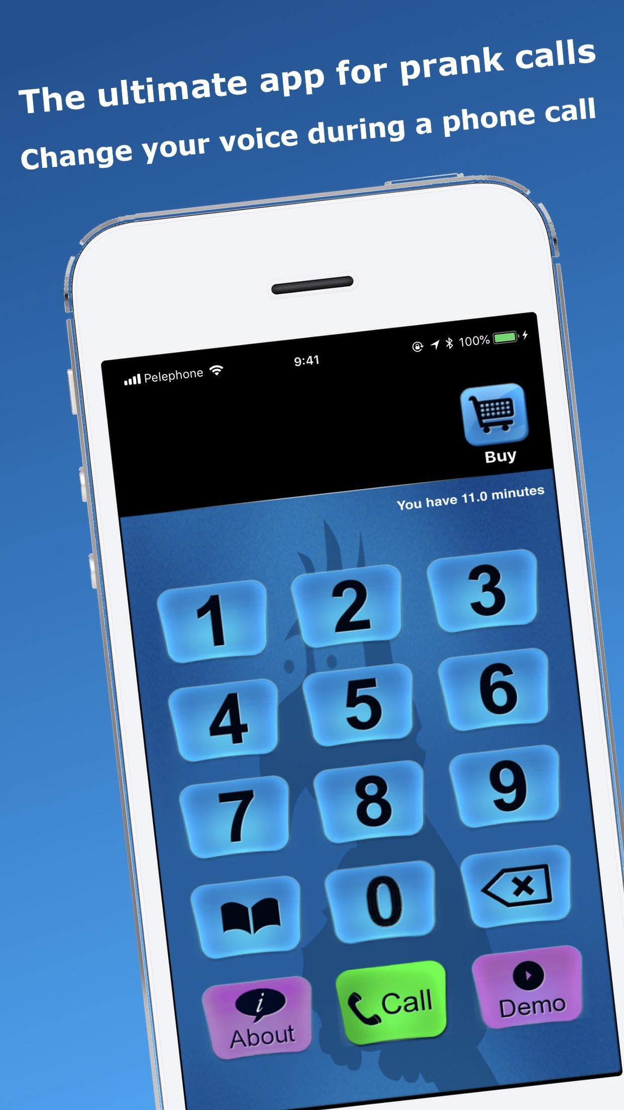 Call Voice Changer - IntCall Screenshot