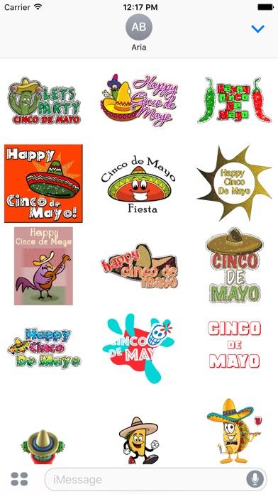 Happy Cinco De Mayo Sticker screenshot 1