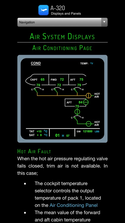 A320 Displays and Panels