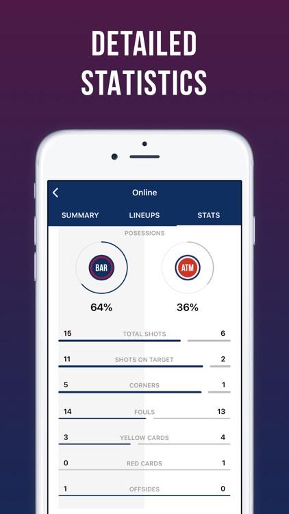 Blaugrana Live: unofficial app screenshot-7