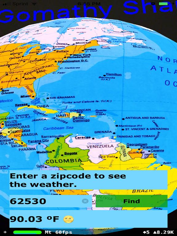 Rotating Globe screenshot 13