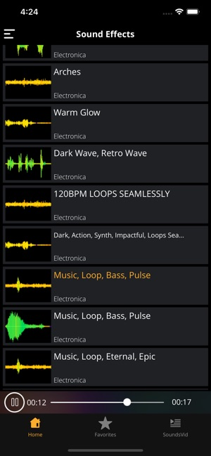 Sound Effects HD: Sounds&Audio on the App Store