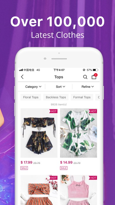 Screenshot for ZAFUL - My Fashion Story in United States App Store