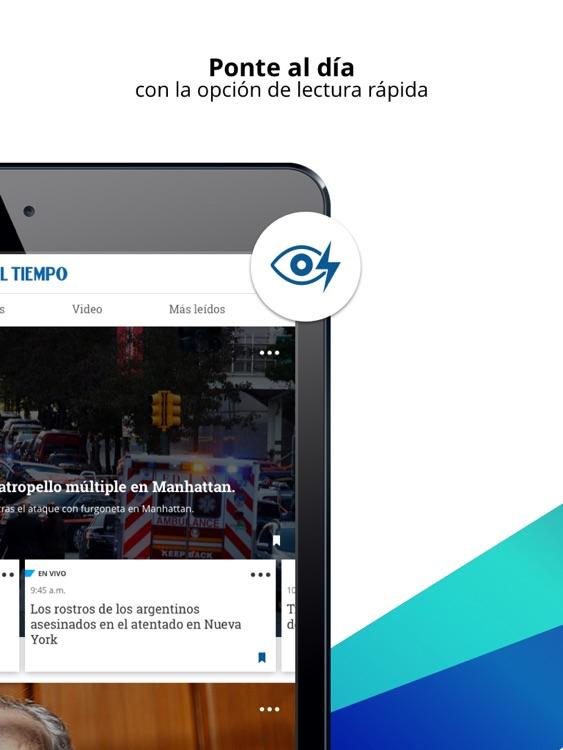 EL TIEMPO iPad screenshot-3