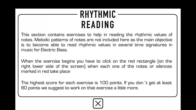 Reading Bass sheet music PRO screenshot-7