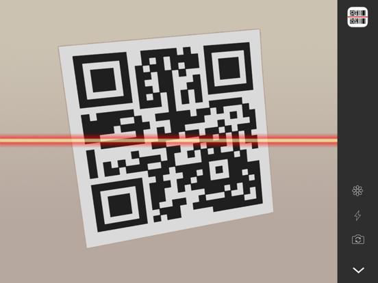 QR Reader for iPad screenshot one
