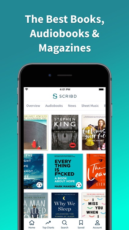 Scribd - audiobooks & ebooks