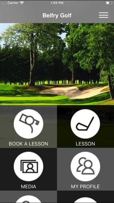 Belfry Golf screenshot one