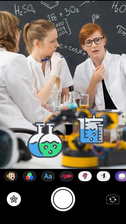Cool Scientific Stickers