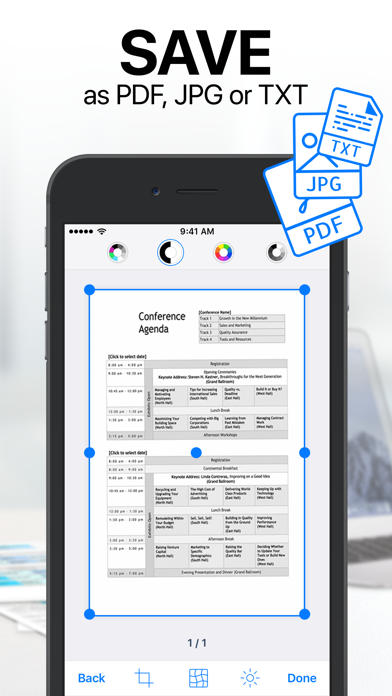 iScanner: PDF Document Scanner Screenshot