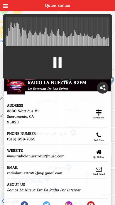 Radio La Nueztra 92FM - 窓用