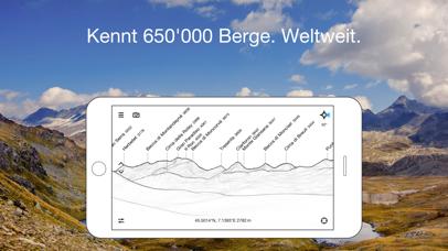 Screenshot for PeakFinder AR in Germany App Store