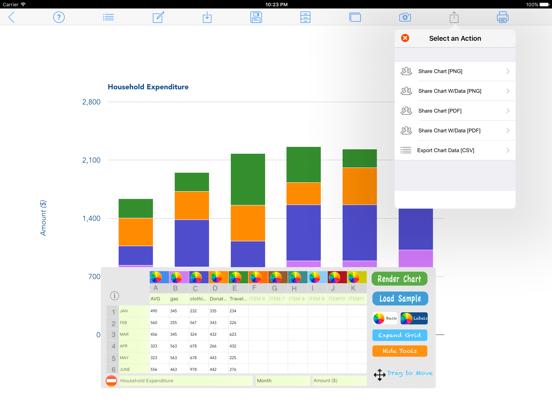 Chart Maker Pro screenshot four