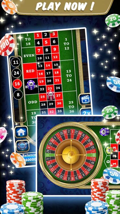 Roulette Wheel Game screenshot-5