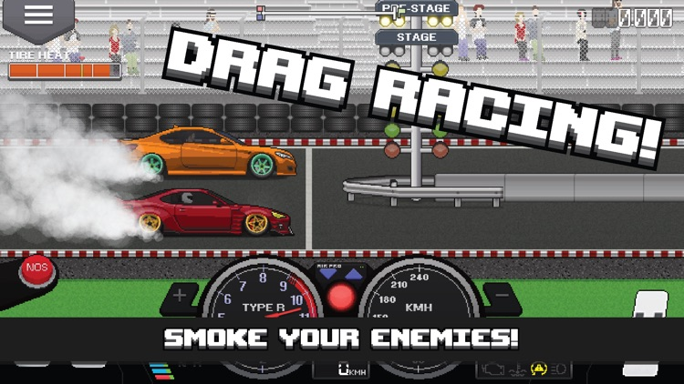 Pixel Car Racer screenshot-0