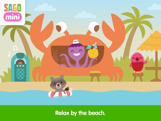 Sago Mini Vacation screenshot 9