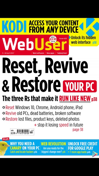 Web User Magazine