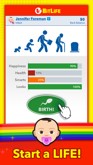 Screenshot for BitLife - Life Simulator in France App Store