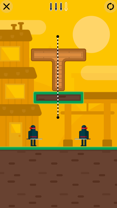 Mr Ninja - Slicey Puzzles screenshot 3