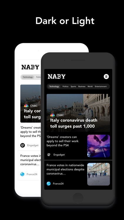 Naby: Smart News App screenshot-3