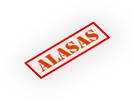 Express yourself in a new way with The Alasas Sticker