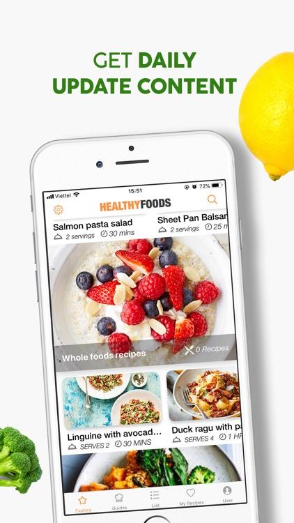 Healthy Food Meal Prep Planner screenshot-4