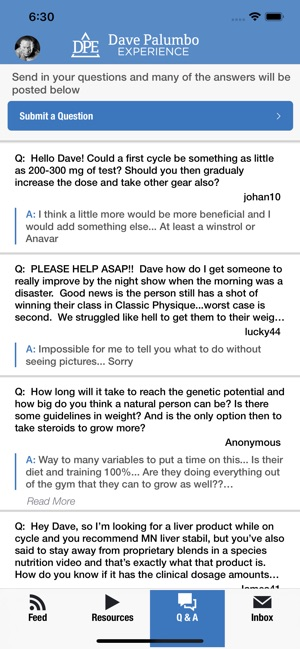 Dave Palumbo on the App Store