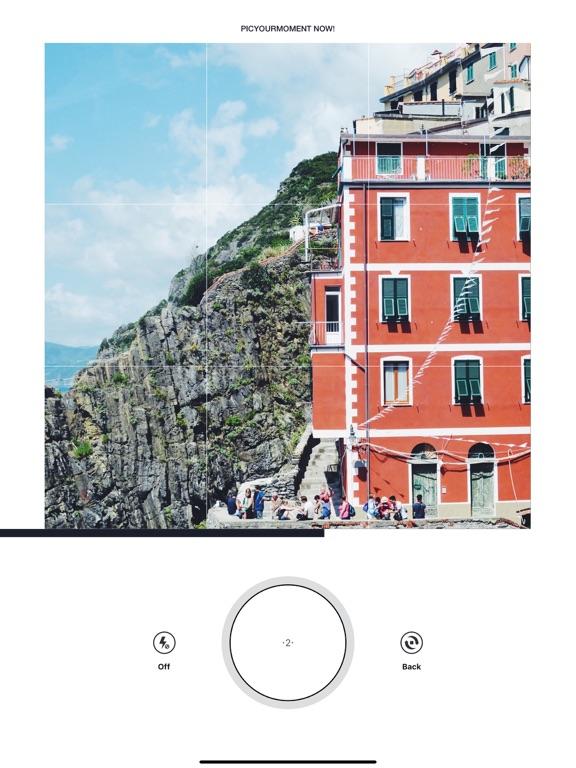 PicYourMoment iPad app afbeelding 1