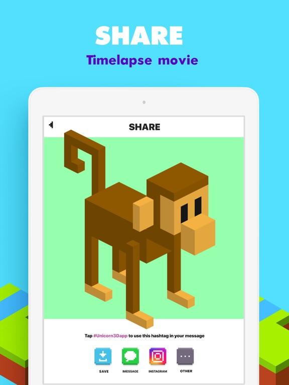 UNICORN 3D: Pixel Kleurboek iPad app afbeelding 5