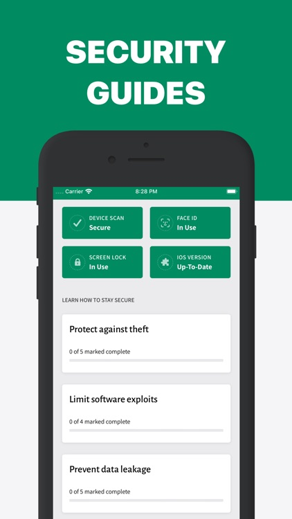 iVerify. - Secure your Phone!