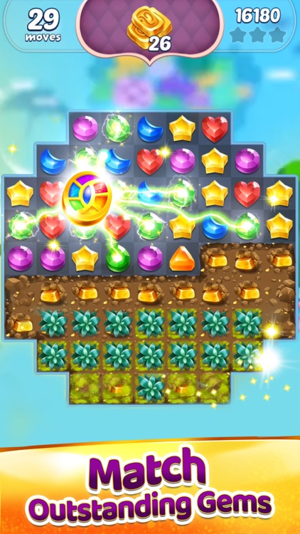 Genies & Gems: Puzzle & Quests screenshot-1